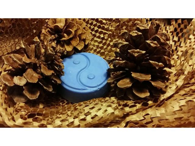 Blue Yin-Yang Round Bar